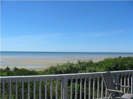 Eastham Cape Cod vacation rental - Low Tide view from deck-hightide & sunset views available