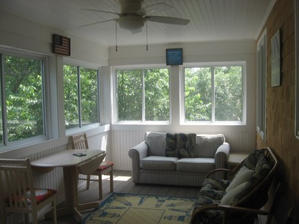 Eastham Cape Cod vacation rental - Enjoy cool breezes from the screened in porch adjacent to den.