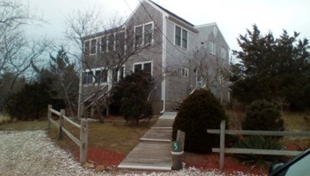 Eastham Cape Cod vacation rental - Eastham Vacation Rental ID 14859 from roadside.