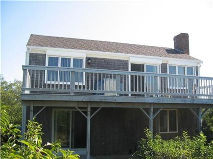 Eastham Cape Cod vacation rental - Front of the house from the bay beach side