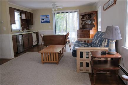 South Yarmouth Cape Cod vacation rental - Studio w/double futon, cable TV, ceiling fans, bath, kitchenette