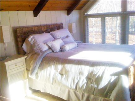 Falmouth Cape Cod vacation rental - Upper level Queen Bedroom en suite