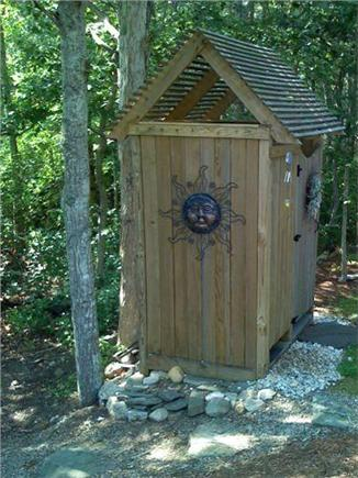 Falmouth Cape Cod vacation rental - Nature's best private outdoor shower!