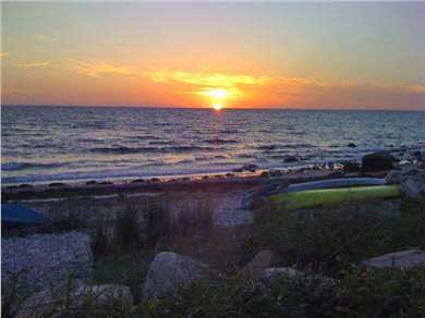 Falmouth Cape Cod vacation rental - Enjoy the best Cape Cod sunsets at Racing Beach