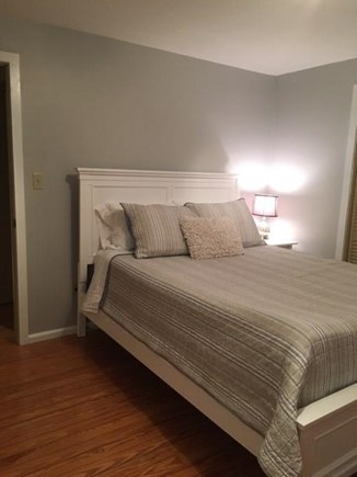 Falmouth Cape Cod vacation rental - First floor Queen bedroom with twin chair-bed