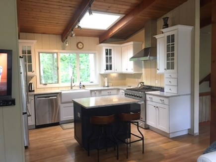 Falmouth Cape Cod vacation rental - Brand new gourmet kitchen with skylight and island