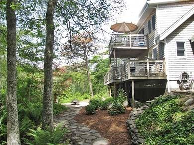 Falmouth Cape Cod vacation rental - Private double decks joined by spiral staircase