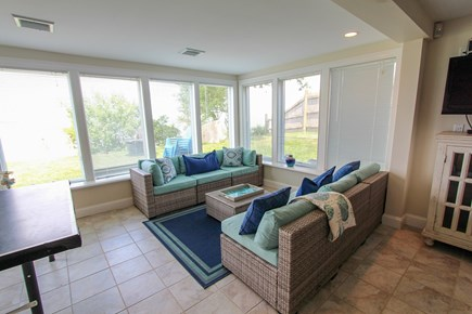 Barnstable Cape Cod vacation rental - Walkout LL Living Space - open floor plan