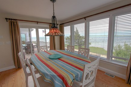 Barnstable Cape Cod vacation rental - Ocean view dining room (expandable table)