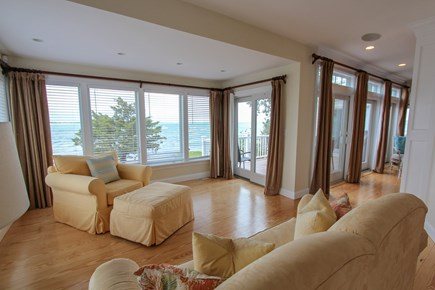 Barnstable Cape Cod vacation rental - Ocean view 1st floor den (pullout sofa & access to full bath)