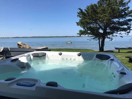 Barnstable Village Cape Cod vacation rental - Relax in the hot tub seaside!