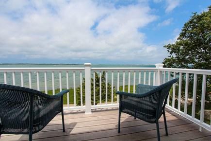 Barnstable Village Cape Cod vacation rental - Queen bedroom - private ocean front deck