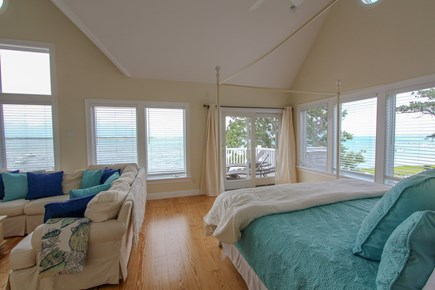 Barnstable Cape Cod vacation rental - Master bedroom with amazing views!