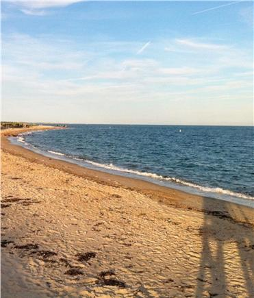 East Falmouth Cape Cod vacation rental - Menahaunt beach 1/2 mile from our house