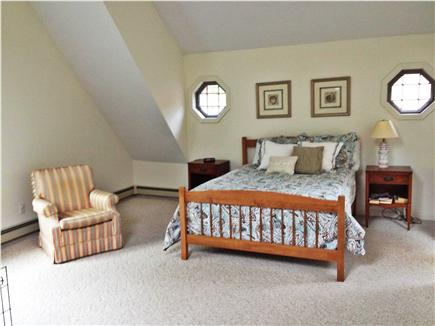 East Falmouth Cape Cod vacation rental - Master bedroom with private shower and jacuzzi