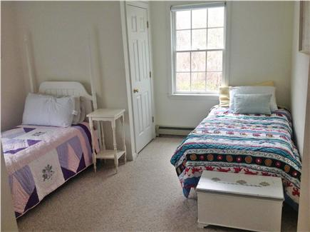 East Falmouth Cape Cod vacation rental - Upstairs back bedroom with trundle under left bed