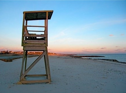 South Harwich Cape Cod vacation rental - Lifeguard stand on Red River Beach