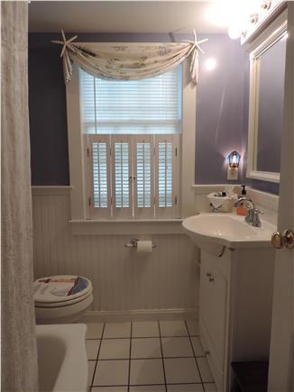 South Harwich Cape Cod vacation rental - Bathroom with full, ceramic  tub