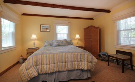 Hyannisport Cape Cod vacation rental - Plenty of extra blankets and pillows.