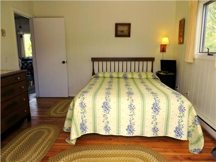 Lookout Bluff, N Truro Cape Cod vacation rental - Downstairs bedroom, Queen sized bed