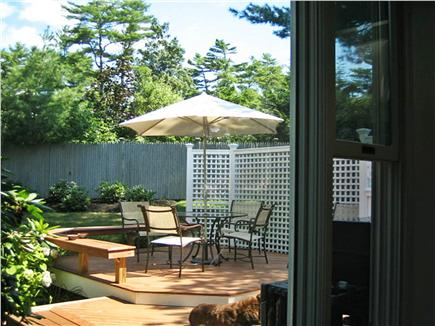 Osterville Osterville vacation rental - Kitchen opens out to deck for ease of entertaining.