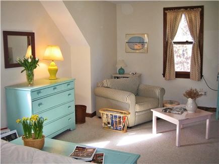 Osterville Osterville vacation rental - Master bedroom also has comfortable seating/TV area.