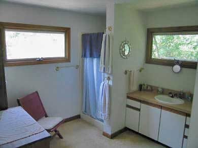 Truro Cape Cod vacation rental - Fully carpeted bathroom