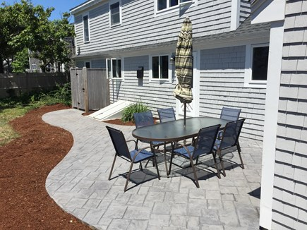 Bass River - West Dennis Cape Cod vacation rental - Back Patio