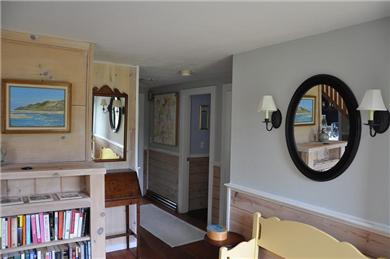 Bass River - West Dennis Cape Cod vacation rental - Front entrance/hallway