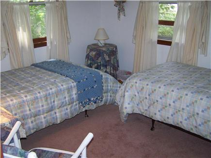 Brewster Cape Cod vacation rental - 2nd Bedroom - twin beds