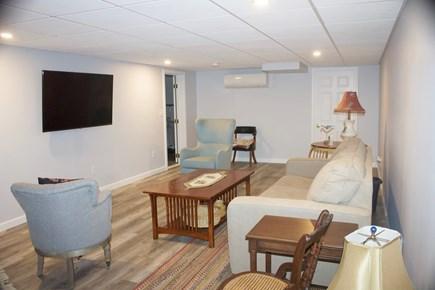 Mashpee Cape Cod vacation rental - Lower level family room