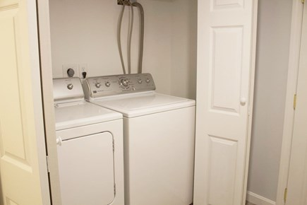 Mashpee Cape Cod vacation rental - Lower level laundry room
