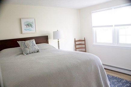 Mashpee Cape Cod vacation rental - King-size bed on the first floor includes storage drawers under