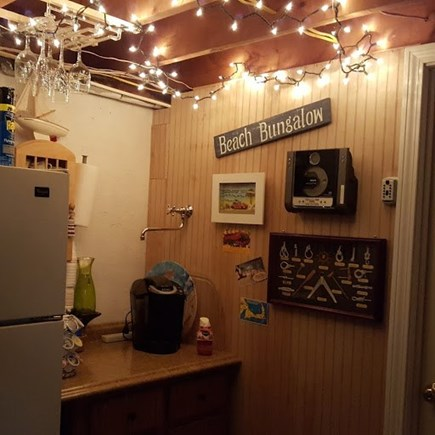 Dennis Cape Cod vacation rental - Coffee area off lower level