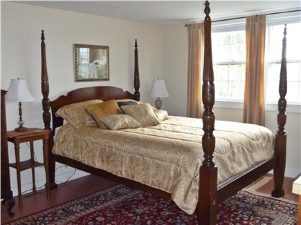 Barnstable Village Cape Cod vacation rental - 1st floor brm(queen w adjacent full bath overlooking the grounds