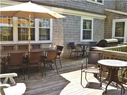 Barnstable Village Cape Cod vacation rental - Private Deck for dining and grilling