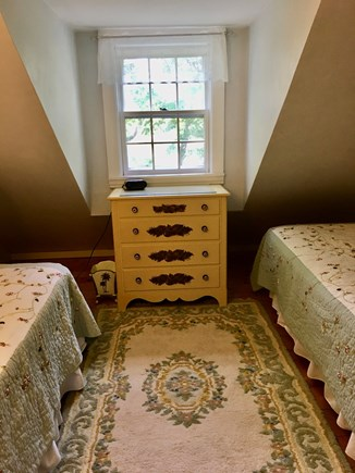 Barnstable Village Cape Cod vacation rental - 5th bedroom (2 twins-or king w/converter overlooking the marsh)