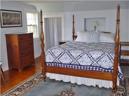 Barnstable Village Cape Cod vacation rental - Master bedroom (queen w/ waterview)