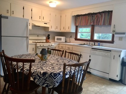 Dennisport Cape Cod vacation rental - Eat-in Kitchen with all amenities of a full kitchen