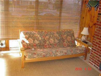 Dennisport Cape Cod vacation rental - Sunroom: Enjoy the ocean breeze with two walls of glass sliders.