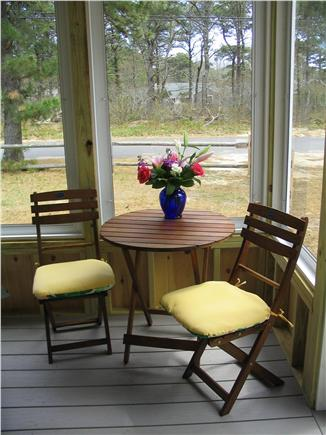 Dennisport Cape Cod vacation rental - Porch for relaxing
