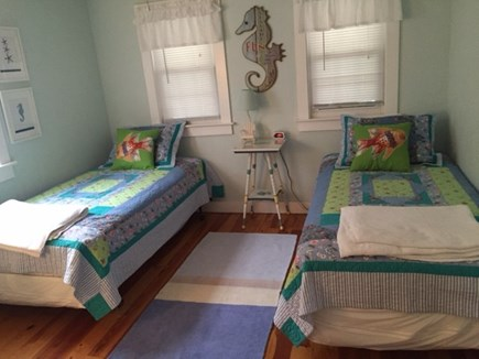 Dennisport Cape Cod vacation rental - Colorful and Spacious Twin Bedroom