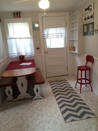 Dennisport Cape Cod vacation rental - 50's Inspired Eating Area