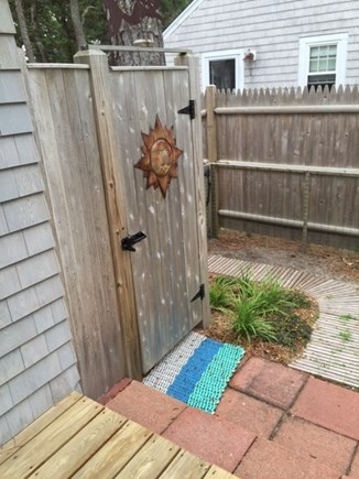 Dennisport Cape Cod vacation rental - Outdoor Shower to Rinse Away the Sand