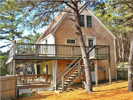 Truro Cape Cod vacation rental - Exterior of house from yard