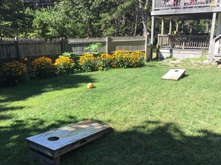 Truro Cape Cod vacation rental - Corn Hole anyone!!