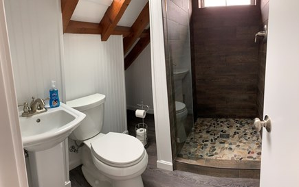 Truro Cape Cod vacation rental - 3rd floor bathroom