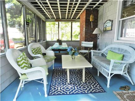 South  Yarmouth, Bass River Cape Cod vacation rental - Screened Porch