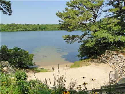 West Brewster/East Dennis Cape Cod vacation rental - Pine Pond, just 100 yards away