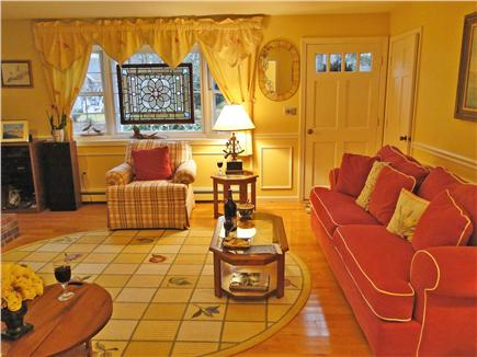 West Brewster/East Dennis Cape Cod vacation rental - Living room provides comfortable seating